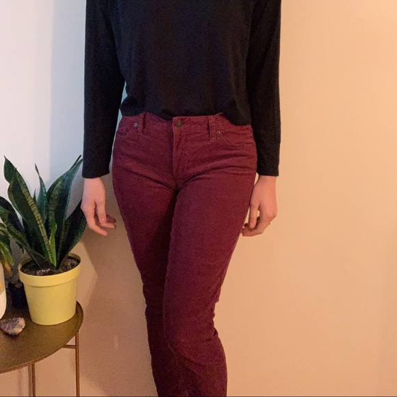 Tommy Hilfiger Pants - Tommy Hilfiger corduroyed maroon pants